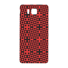 Abstract Background Red Black Samsung Galaxy Alpha Hardshell Back Case