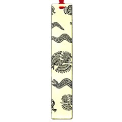 Aztecs Pattern Large Book Marks by ValentinaDesign