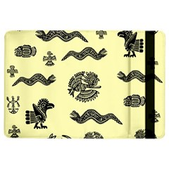 Aztecs Pattern Ipad Air 2 Flip by ValentinaDesign