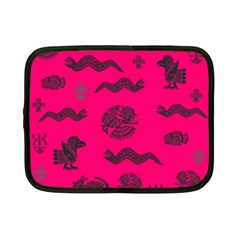 Aztecs Pattern Netbook Case (small)  by ValentinaDesign