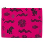 Aztecs pattern Cosmetic Bag (XXL)  Front