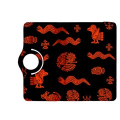Aztecs Pattern Kindle Fire Hdx 8 9  Flip 360 Case by ValentinaDesign