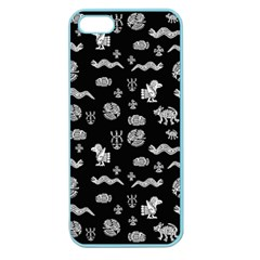 Aztecs Pattern Apple Seamless Iphone 5 Case (color) by ValentinaDesign