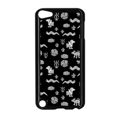 Aztecs Pattern Apple Ipod Touch 5 Case (black) by ValentinaDesign