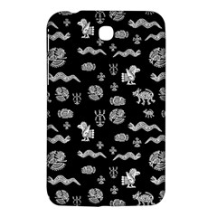 Aztecs Pattern Samsung Galaxy Tab 3 (7 ) P3200 Hardshell Case  by ValentinaDesign