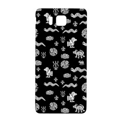 Aztecs Pattern Samsung Galaxy Alpha Hardshell Back Case by ValentinaDesign