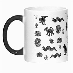 Aztecs Pattern Morph Mugs by ValentinaDesign