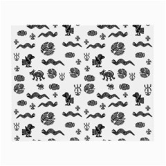 Aztecs Pattern Small Glasses Cloth (2 Side) by ValentinaDesign