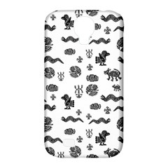 Aztecs Pattern Samsung Galaxy S4 Classic Hardshell Case (pc+silicone) by ValentinaDesign