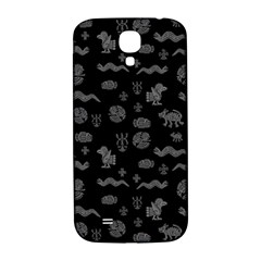 Aztecs Pattern Samsung Galaxy S4 I9500/i9505  Hardshell Back Case by ValentinaDesign
