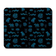 Aztecs Pattern Large Mousepads by ValentinaDesign