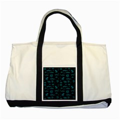 Aztecs Pattern Two Tone Tote Bag by ValentinaDesign