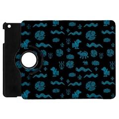 Aztecs Pattern Apple Ipad Mini Flip 360 Case by ValentinaDesign
