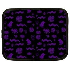 Aztecs Pattern Netbook Case (xxl)  by ValentinaDesign