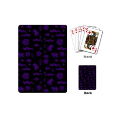Aztecs Pattern Playing Cards (mini)  by ValentinaDesign