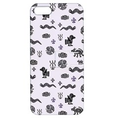 Aztecs Pattern Apple Iphone 5 Hardshell Case With Stand by ValentinaDesign