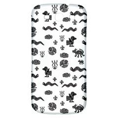 Aztecs Pattern Samsung Galaxy S3 S Iii Classic Hardshell Back Case by ValentinaDesign