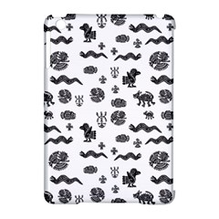 Aztecs Pattern Apple Ipad Mini Hardshell Case (compatible With Smart Cover) by ValentinaDesign