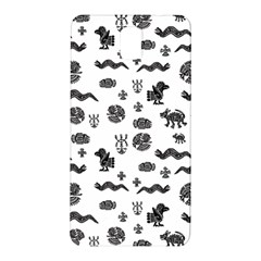 Aztecs Pattern Samsung Galaxy Note 3 N9005 Hardshell Back Case by ValentinaDesign