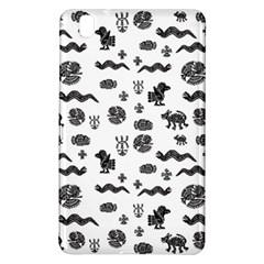 Aztecs Pattern Samsung Galaxy Tab Pro 8 4 Hardshell Case by ValentinaDesign