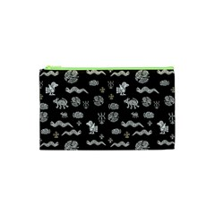 Aztecs Pattern Cosmetic Bag (xs) by ValentinaDesign