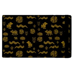 Aztecs Pattern Apple Ipad 3/4 Flip Case by ValentinaDesign