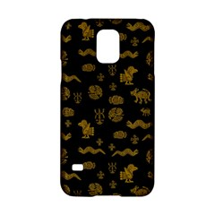 Aztecs Pattern Samsung Galaxy S5 Hardshell Case  by ValentinaDesign