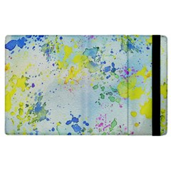 Watercolors splashes        Kindle Fire (1st Gen) Flip Case by LalyLauraFLM