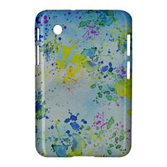 Watercolors Splashes        Apple Iphone 5c Hardshell Case by LalyLauraFLM
