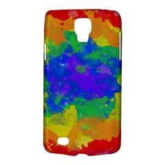 Colorful Paint Texture     Samsung Galaxy Ace 3 S7272 Hardshell Case by LalyLauraFLM