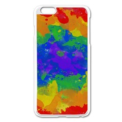 Colorful paint texture     Apple iPhone 6/6S Leather Folio Case by LalyLauraFLM