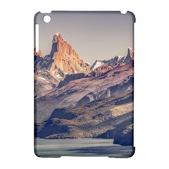 Fitz Roy And Poincenot Mountains Lake View   Patagonia Apple Ipad Mini Hardshell Case (compatible With Smart Cover) by dflcprints