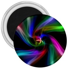 Abstract Art Color Design Lines 3  Magnets by Nexatart