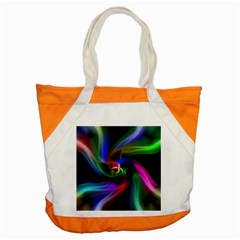 Abstract Art Color Design Lines Accent Tote Bag by Nexatart
