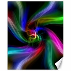 Abstract Art Color Design Lines Canvas 16  X 20   by Nexatart
