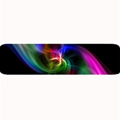 Abstract Art Color Design Lines Large Bar Mats by Nexatart