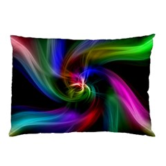 Abstract Art Color Design Lines Pillow Case (two Sides) by Nexatart