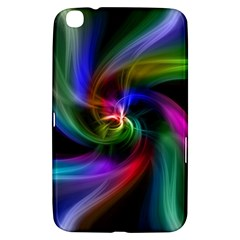 Abstract Art Color Design Lines Samsung Galaxy Tab 3 (8 ) T3100 Hardshell Case