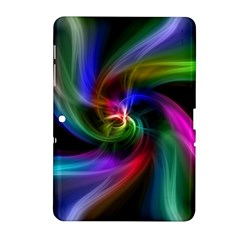 Abstract Art Color Design Lines Samsung Galaxy Tab 2 (10 1 ) P5100 Hardshell Case