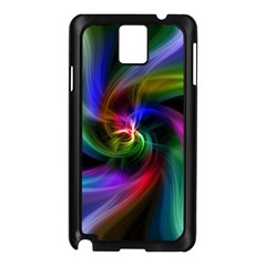Abstract Art Color Design Lines Samsung Galaxy Note 3 N9005 Case (black)