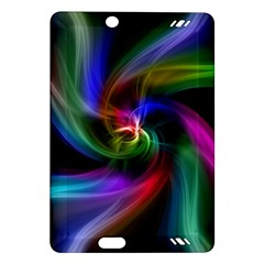 Abstract Art Color Design Lines Amazon Kindle Fire Hd (2013) Hardshell Case by Nexatart