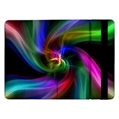 Abstract Art Color Design Lines Samsung Galaxy Tab Pro 12 2  Flip Case