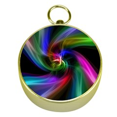 Abstract Art Color Design Lines Gold Compasses by Nexatart