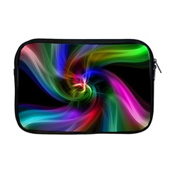 Abstract Art Color Design Lines Apple Macbook Pro 17  Zipper Case by Nexatart