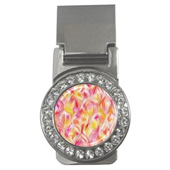 Pretty Painted Pattern Pastel Money Clips (cz)  by Nexatart