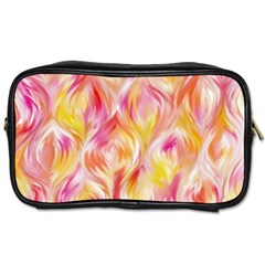 Pretty Painted Pattern Pastel Toiletries Bags by Nexatart