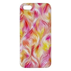 Pretty Painted Pattern Pastel Iphone 5s/ Se Premium Hardshell Case by Nexatart