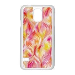 Pretty Painted Pattern Pastel Samsung Galaxy S5 Case (white)