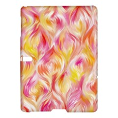 Pretty Painted Pattern Pastel Samsung Galaxy Tab S (10 5 ) Hardshell Case  by Nexatart