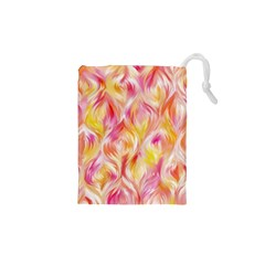 Pretty Painted Pattern Pastel Drawstring Pouches (xs)